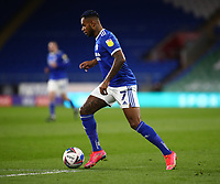 16th March 2021; Cardiff City Stadium, Cardiff, Glamorgan, Wales; English Football League Championship Football, Cardiff City versus Stoke City; Leandro Bacuna of Cardiff City