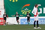 Madrid (03/03/2012).-Campo de Futbol de Vallecas..Liga BBVA..Rayo Vallecano-Real Racing Club..Gol del Racing, Colsa....©Alex Cid-Fuentes.......