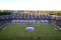 STANFORD, CA - JUNE 29: Pre-game during a Major League Soccer (MLS) match between the San Jose Earthquakes and the LA Galaxy on June 29, 2019 at Stanford Stadium in Stanford, California.