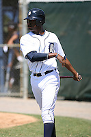 March 21st 2008:  Jeramy Laster of the Detroit Tigers minor league system during Spring Training at Tiger Town in Lakeland, FL.  Photo by:  Mike Janes/Four Seam Images