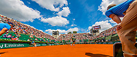 Paris, France, 31 May, 2017, Tennis, French Open, Roland Garros, overall view Haase/Nadal<br /> Photo: Henk Koster/tennisimages.com