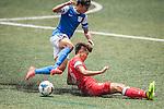 Kitchee vs HKFA U-21 during the Day 3 of the HKFC Citibank Soccer Sevens 2014 on May 25, 2014 at the Hong Kong Football Club in Hong Kong, China. Photo by Xaume Olleros / Power Sport Images