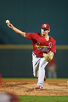 Palm Beach Cardinals relief pitcher Cody Schumacher (30) during a game against the Bradenton Marauders on August 9, 2016 at McKechnie Field in Bradenton, Florida.  Bradenton defeated Palm Beach 8-7.  (Mike Janes/Four Seam Images)