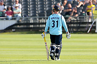 Adam Wheater of Essex leaves the field having been dismissed during Gloucestershire vs Essex Eagles, Royal London One-Day Cup Cricket at the Bristol County Ground on 3rd August 2021