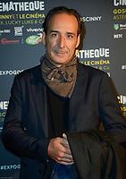 ALEXANDRE DESPLAT - Vernissage de l' exposition Goscinny - La Cinematheque francaise 02 octobre 2017 - Paris - France