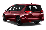 Car pictures of rear three quarter view of 2020 Chrysler Pacifica Limited 5 Door Minivan Angular Rear