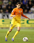 FC Barcelona's Marc Bartra during Spanish King's Cup match.October 30,2012. (ALTERPHOTOS/Acero)