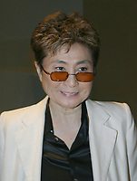 Miami, FL 10-25-02<br /> Yoko Ono<br /> Photo by Adam Scull/PHOTOlink