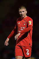 Sam Ling of Leyton Orient during the EFL Trophy behind closed doors match between Leyton Orient and Brighton & Hove Albion Under 21s at the Matchroom Stadium, London, England played without supporters able to attend due to ongoing covid-19 government guidelines on 8 September 2020. Photo by Vince  Mignott.