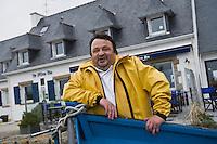 Europe/France/Bretagne/29/Finistère/Nevez: Patrick Le Guen  chef de l' Hôtel-restaurant  Ar Men Du,  Raguenez Plage