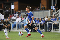 SAN JOSE, CA - AUGUST 13: Jackson Yueill #14 of the San Jose Earthquakes during a game between Vancouver Whitecaps and San Jose Earthquakes at PayPal Park on August 13, 2021 in San Jose, California.