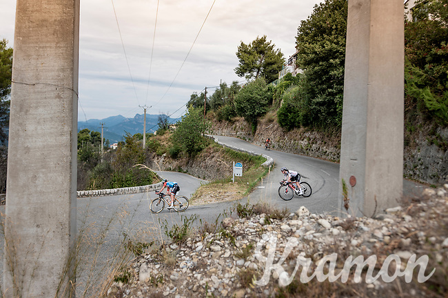 Christine Majerus (LUX/Boels-Dolmans) & Anna Henderson (GBR/Sunweb)<br /> <br /> 7th La Course by Tour de France 2020 <br /> 1 day race from Nice to Nice (96km)<br /> <br /> ©kramon