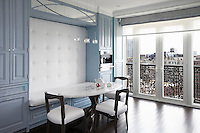 Dining area with alcove seating