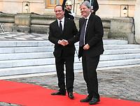 Francois Hollande , Paolo Gantiloni - SOMMET INFORMEL DES CHEFS DE GOUVERNEMENT ALLEMAND, ESPAGNOL, ITALIEN ET FRANCAIS