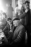 Men having a lunch time drink Glasglow Pub Scotland 1979