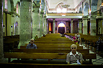 Irak, Juni 2014 - Die irakische Stadt Karakosch beheimatet die letzten Christen im Irak. <br /> <br /> Engl.: Asia, Iraq, North Iraq, conflict area, Karakosh, church, religion, the last Christians in Iraq are domiciled in Karakosh, June 2014