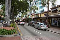 Ft. Lauderdale, Florida.  E. Las Olas Blvd.