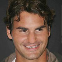 Roger Federer 8-24-07 Photo By John Barrett/PHOTOlink