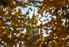 November 1, 2016; Golden Dome. (Photo by Barbara Johnston/University of Notre Dame)