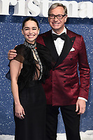 """Emelia Clarke and Paul Feig<br /> arriving for the """"Last Christmas"""" Premiere at the BFI Southbank, London.<br /> <br /> ©Ash Knotek  D3531 11/11/2019"""