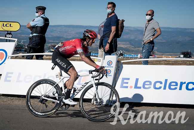 WInner Anacona (COL/Arkea-Samsic) at the finish up Mont Aigoual<br /> <br /> Stage 6 from Le Teil to Mont Aigoual (191km)<br /> <br /> 107th Tour de France 2020 (2.UWT)<br /> (the 'postponed edition' held in september)<br /> <br /> ©kramon