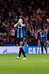 Club Brugge's Hans Vanaken during UEFA Champions League match between Atletico de Madrid and Club Brugge at Wanda Metropolitano Stadium in Madrid, Spain. October 03, 2018. (ALTERPHOTOS/A. Perez Meca)