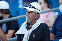 Former MLB manager Jim Leyland takes in a minor league baseball game between the Columbia Fireflies and the Kannapolis Cannon Ballers at Atrium Health Ballpark on May 21, 2021 in Kannapolis, North Carolina. Leyland's son Patrick is a coach for the Cannon Ballers. (Brian Westerholt/Four Seam Images)