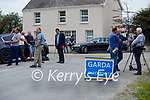 Media service at the scene of a suspected Murder suicide at Ballyreehan, Lixnaw on Wednesday.