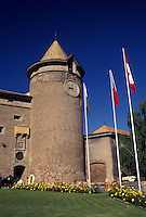 castle, Switzerland, La Cote, Vaud, 13th century Savoyard castle in the town of Morges.