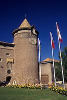 castle, Switzerland, La Cote, Vaud, 13th century Savoyard castle in the town of Morges.