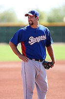 Tommy Mendonca - Texas Rangers - 2010 Instructional League.Photo by:  Bill Mitchell/Four Seam Images..