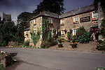 The Village Pub. St Kew Inn, Saint Kew, Cornwall. England 1990s 1991