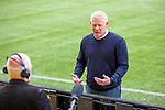 16.08.2020 Livingston v Rangers: Livingston manager Gary Holt