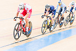 Szymon Sajnok of Poland competes on the Men's Omnium Tempo Race 10km during the 2017 UCI Track Cycling World Championships on 15 April 2017, in Hong Kong Velodrome, Hong Kong, China. Photo by Marcio Rodrigo Machado / Power Sport Images
