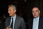 FRANCESCO RUTELLI CON CLEMENTE MASTELLA<br /> PREMIO GUIDO CARLI - TERZA  EDIZIONE<br /> PALAZZO DI MONTECITORIO - SALA DELLA LUPA<br /> CON RICEVIMENTO  HOTEL MAJESTIC   ROMA 2012