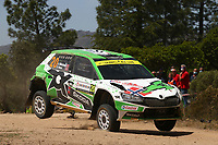 4th June 2021; Alghero, Sardinia; WRC rally of Italia Sardinia, stages  1-8;  Andreas Mikkelsen-Skoda Fabia Evo