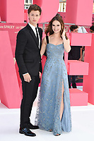 """Ansel Elgort and Lily James<br /> at the """"Baby Driver"""" premiere, Cineworld Empire Leicester Square, London. <br /> <br /> <br /> ©Ash Knotek  D3285  21/06/2017"""