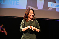 Valerie Plante et Projet Montreal remportent l'election municipale contre Denis Coderre, le 5 novembre 2017.