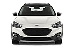 Car photography straight front view of a 2019 Ford Focus-Clipper Active-Business 5 Door Wagon
