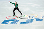 Paul Bonifacio Parkinson of Italy compete in the Short Program Men during the 2014 Sochi Olympic Winter Games at Iceberg Skating Palace on February 6, 2014 in Sochi, Russia. Photo by Victor Fraile / Power Sport Images