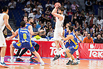 Real Madrid's Sergio Llull during the first match of the playoff at Barclaycard Center in Madrid. May 27, 2016. (ALTERPHOTOS/BorjaB.Hojas)