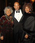 From left: honoree Judge Zinetta A. Burney with Jiles Daniels and Janice Character at the UNCF 21at Annual Black Tie Gala at the Hilton Americas Hotel Friday Dec. 04,2009. (Dave Rossman/For the Chronicle)