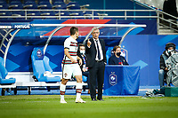 Fernando Santos ( selectionneur - entraineur Portugal  ) - R Guerreiro ( 5 - Portugal ) - PARIS 11/10/2020 Saint Denis <br /> Nations League France Vs. Portugal <br /> Photo Federico Pestellini / Panoramic / Insidefoto  <br /> ITALY ONLY