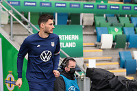 BELFAST, NORTHERN IRELAND - MARCH 28: Sebastian Lletget #17 of the United States before a game between Northern Ireland and USMNT at Windsor Park on March 28, 2021 in Belfast, Northern Ireland.