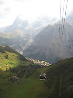 Alps cable car