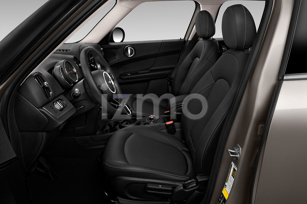 Front seat view of 2020 MINI Countryman Cooper-Signature 5 Door Hatchback Front Seat  car photos