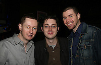 We Love Soaps Roger Newcomb & Greg Turner & Brian Hewson (producers of EMPIRE, the Tina Sloan web series) appeared on April 28, 2010 at Will Clark's P*rno Bingo at Pieces, New York City, New York to benefit the American Foundation for Suicide Prevention - an event presented by We Love Soaps (Damon Jacobs and Roger Newcomb). (Photos by Sue Coflin/Max Photos)