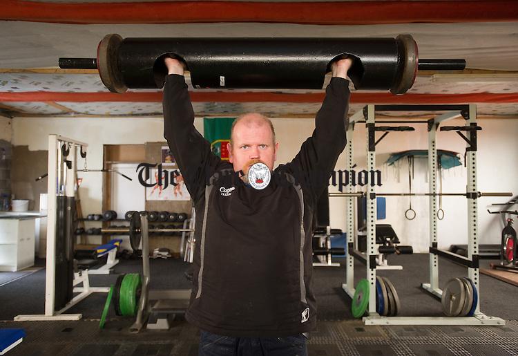 Gerry O Mahony, proprietor of Malbay Strength and Fitness. Photograph by John Kelly.