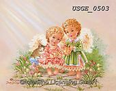 Dona Gelsinger, CHILDREN, KINDER, NIÑOS, paintings+++++,USGE0503,#k#, EVERYDAY,angels,angel
