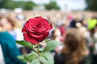 Oslo, 20110725. Rosemarkering, Rådhusplassen. Foto: Eirik Helland Urke / Dagbladet